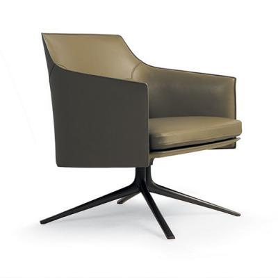 北欧设计师设计 小型休闲椅 玻璃钢内架+海绵 异形脚 客厅 酒店 会所斯坦福椅