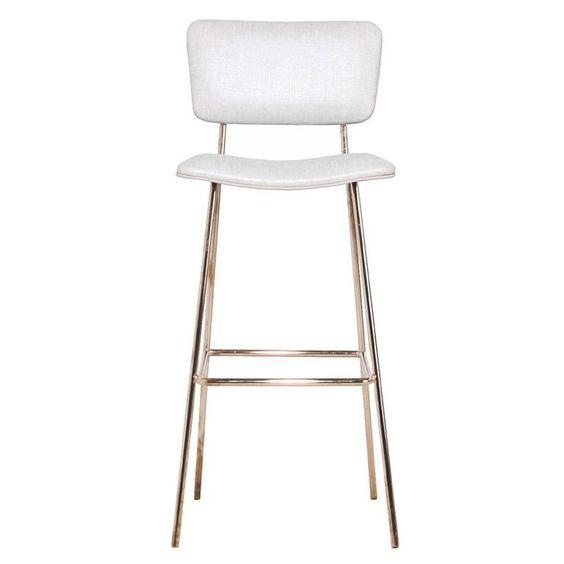 欧美设计师高脚吧椅 方圆脚 High chair Joe bar stool by Midj 客厅酒店会所酒吧专用家具