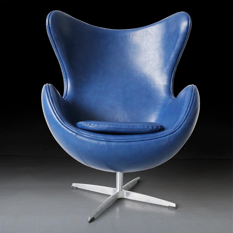 北欧鸡蛋椅蛋壳椅办公椅创意躺椅单人休闲椅小户型客厅卧室精品