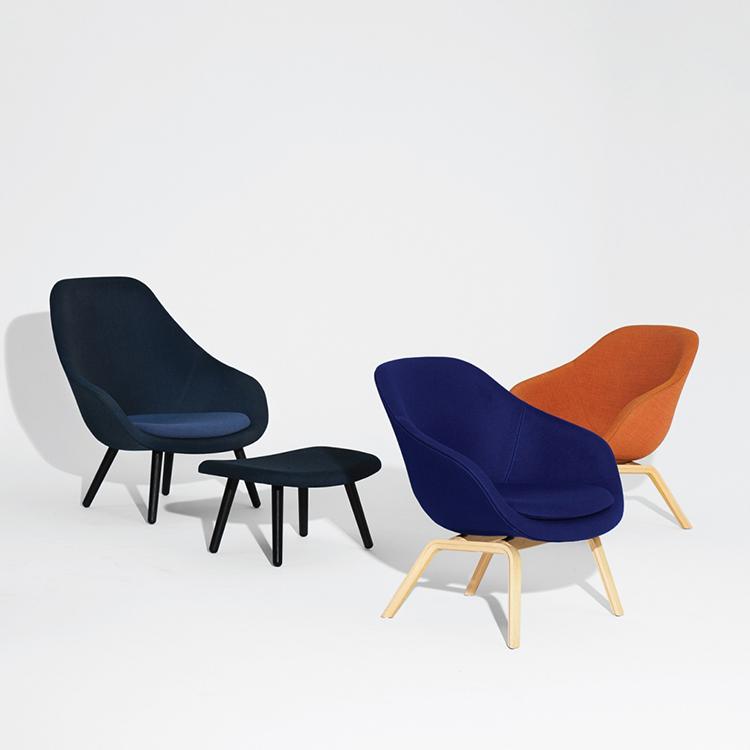 设计师玻璃钢hay沙发椅休闲椅北欧丹麦椅书房椅休闲椅量大可谈