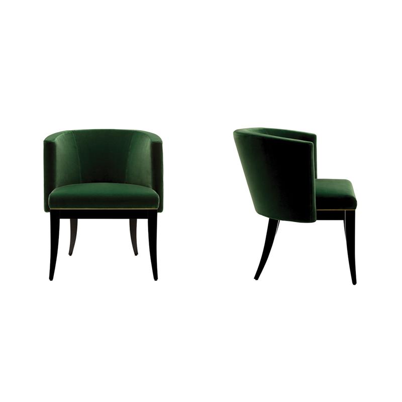 新中式经典艺术祖母绿翡翠椅 heritage chairs emerald 公寓 酒店 别墅 会所 KTV 休闲椅&餐椅