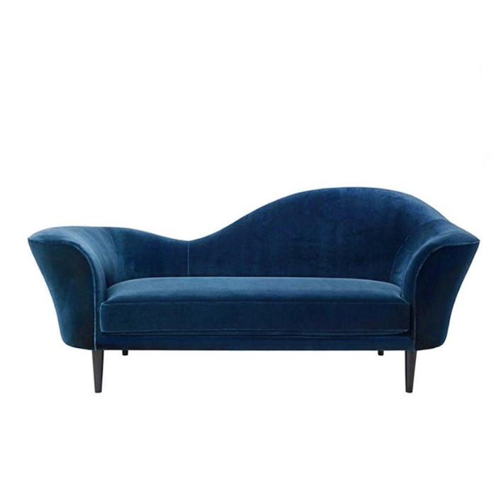 贵妃沙发咖啡馆沙发别墅三位沙发酒店样板房沙发北欧设计创意沙发