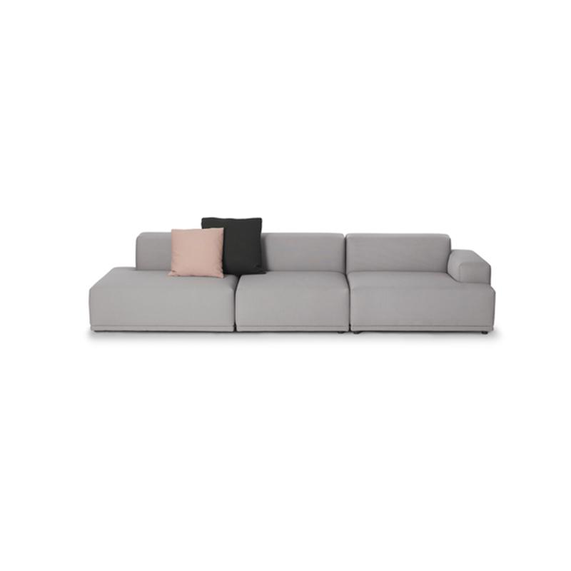 北欧布艺沙发双三人小户型现代简约组合客厅家具转角实木储物沙发