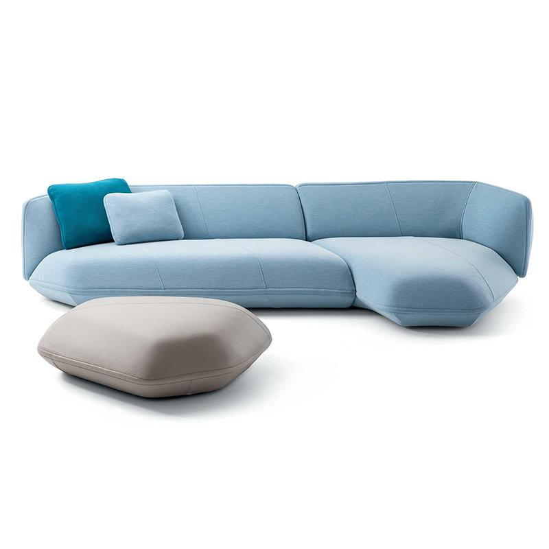 意大利设计师 cassina 卡西纳 异形沙发北欧轻奢创意大小户型组合酒店客厅布艺沙发