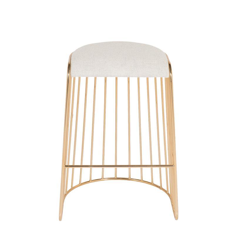 酒吧吧椅网咖椅接待不锈钢设计师创意北欧风格酒吧椅