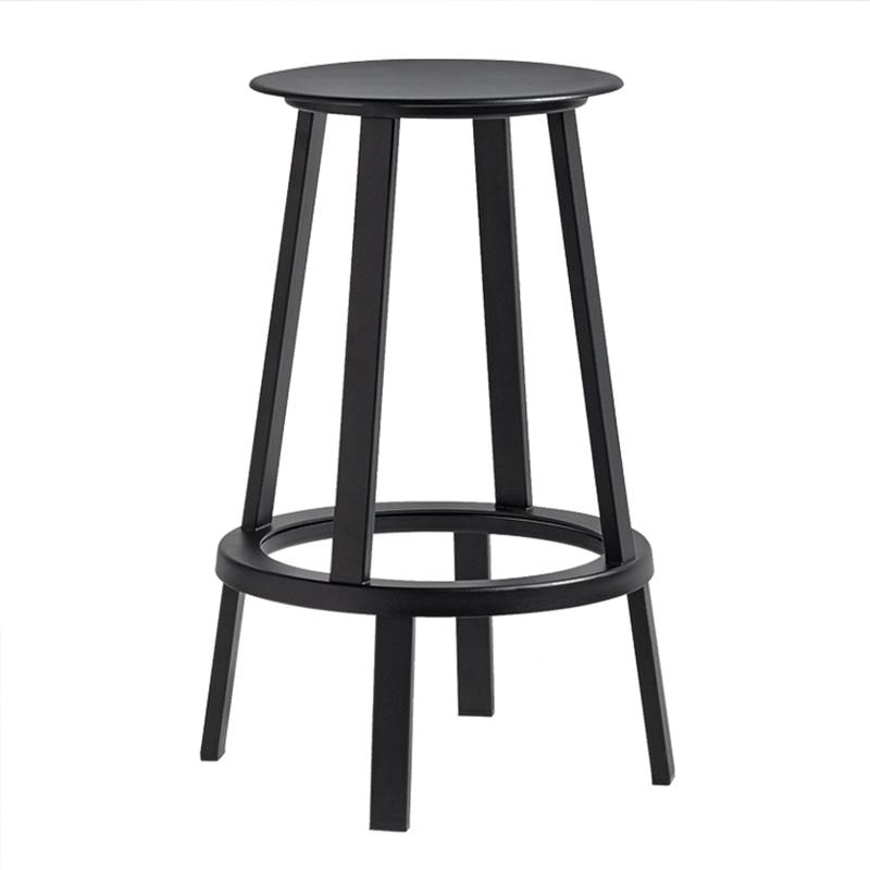 仿丹麦旋转吧凳北欧休闲吧台椅创意个性高脚凳铁艺酒吧椅咖啡餐椅