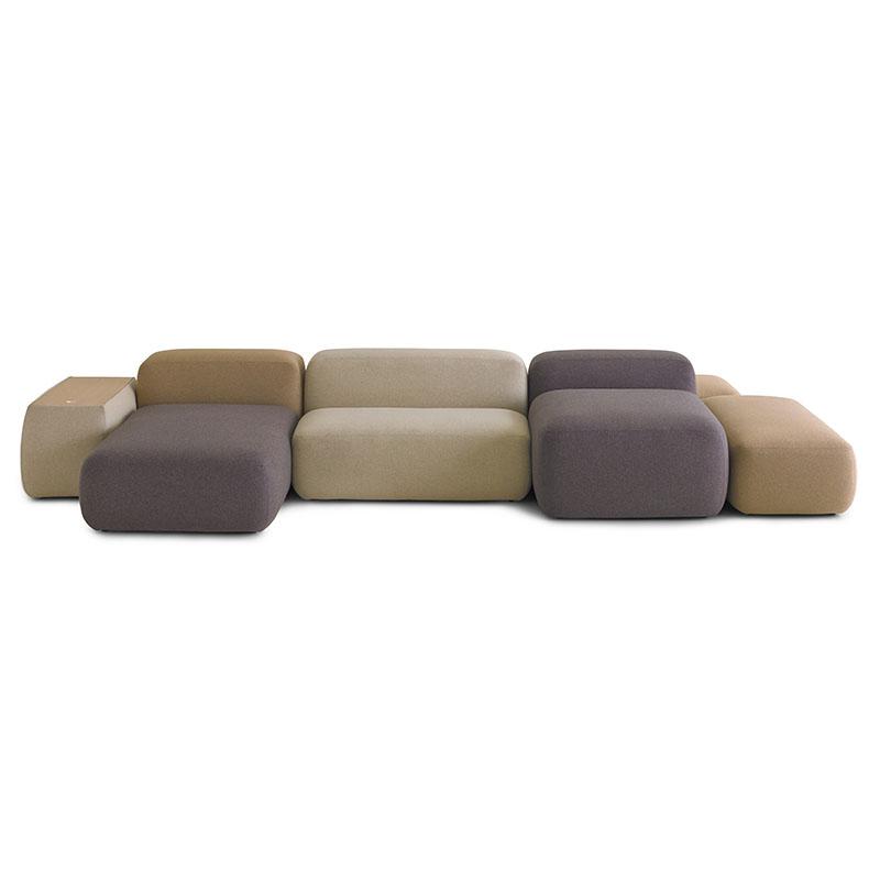 北欧创意自由组合沙发设计师工作室酒店大厅公寓休闲模块沙发定制