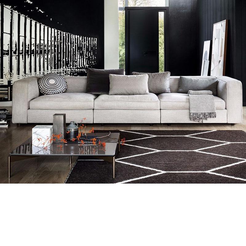 意大利设计师款经典休闲家具沙发酒店大厅接待别墅布艺沙发