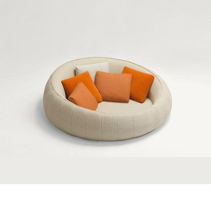 现代懒人沙发圆形沙发样板房沙发休闲蛋壳沙发别墅区休闲沙发