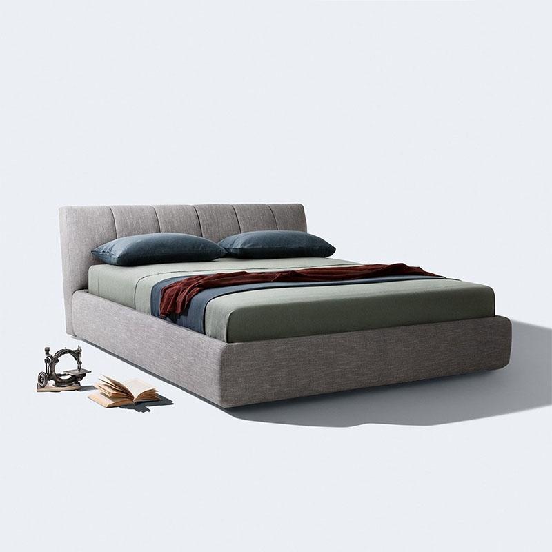 布艺床现代简约床主卧布床网红床双人床榻榻米床