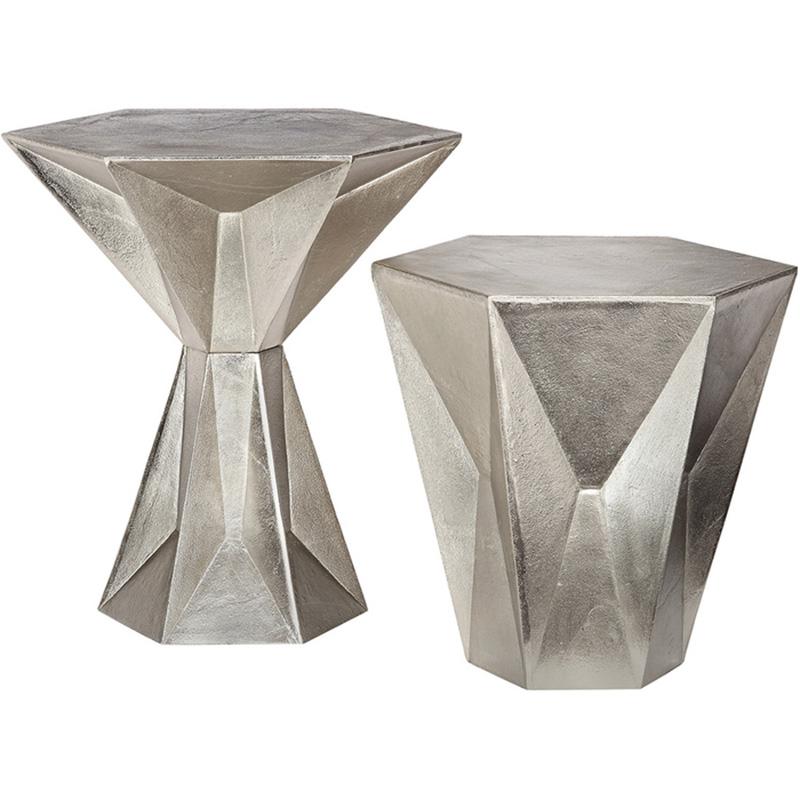 现代北欧时尚轻奢美容会所接待洽淡创意个性茶几桌