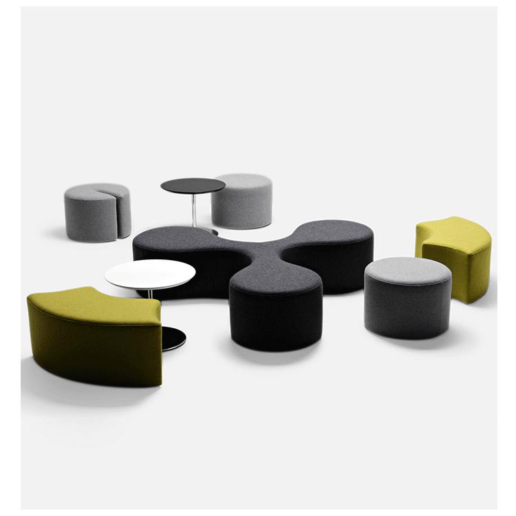 北欧式系沙发设计师具前台休闲沙发接待幼儿园组抖音网红ins同款