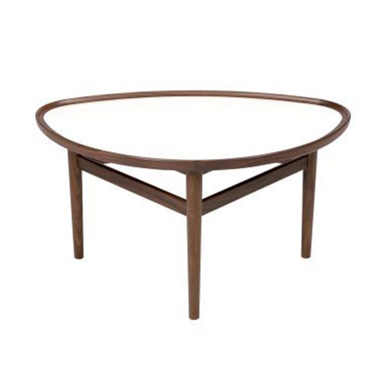 创意北欧风格个性百搭实木小户型丹麦现代咖啡厅沙发茶几边