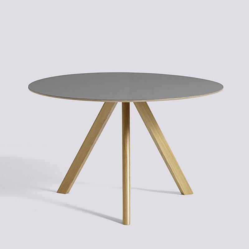 北欧实木餐桌设计师酒店接待洽谈桌简约现代边几茶几ins风格桌
