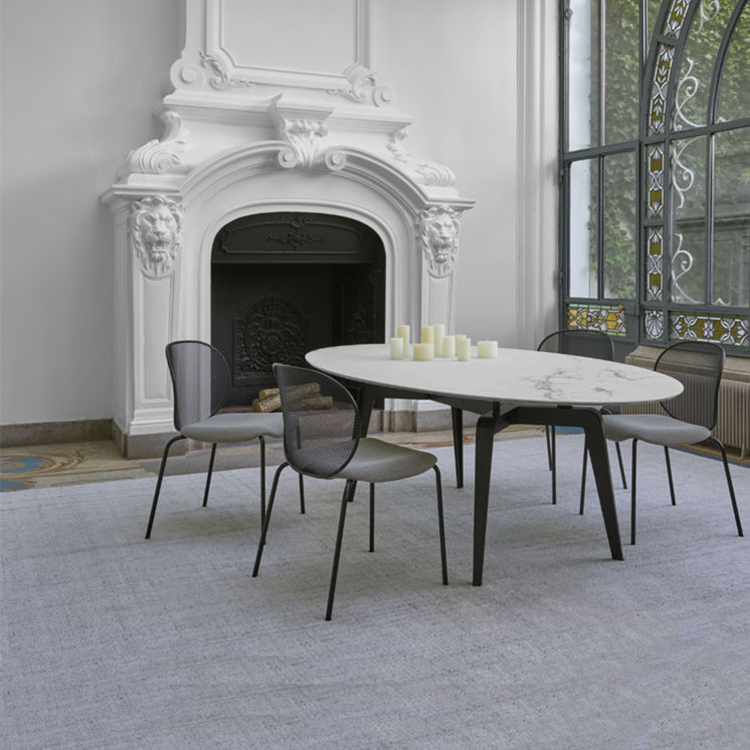 北欧大理石茶几简约现代客厅高低组合茶桌小户型迷你金色圆形茶台