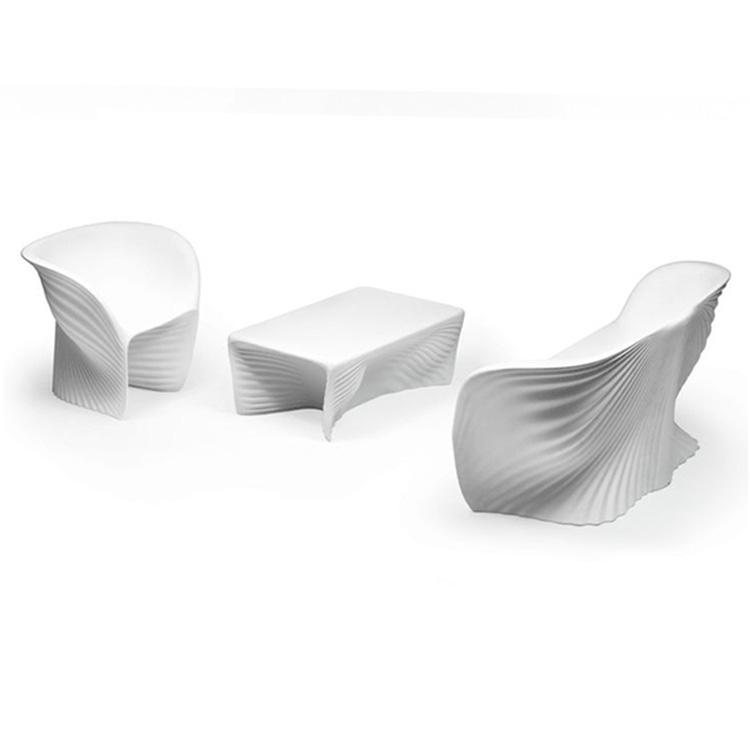 玻璃钢休闲椅 户外商场餐厅休息区餐椅 异形简约接待椅 洽谈椅