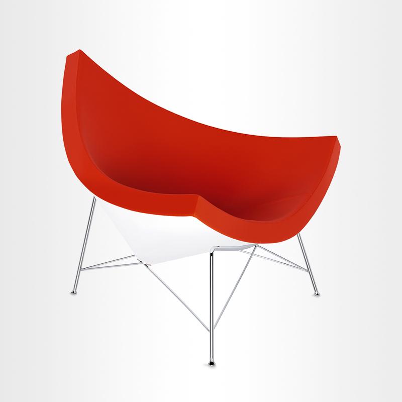 椰壳单人沙发椅创意艺术造型贝壳椅子异形玻璃钢北欧设计