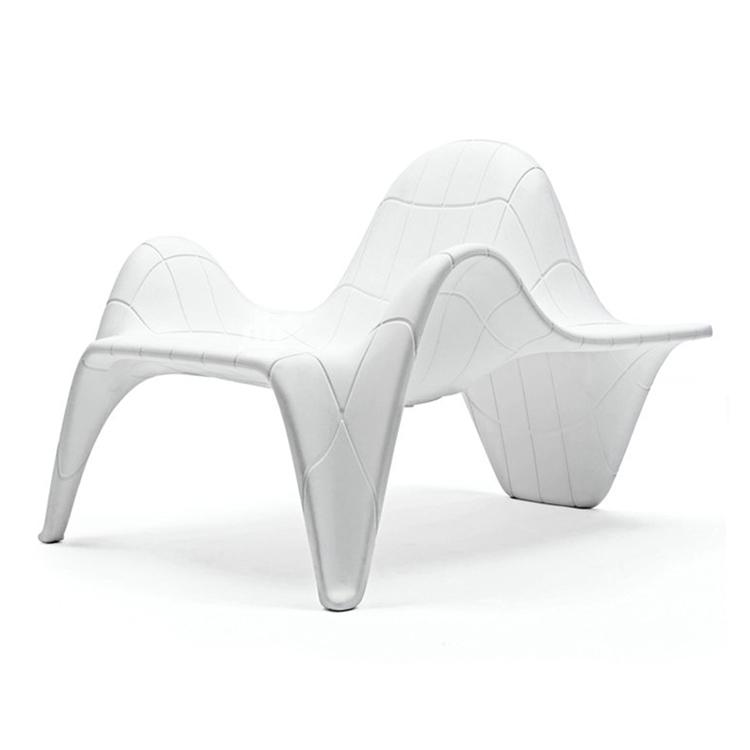 玻璃钢椅时尚创意沙滩椅酒店咖啡厅商场影院休闲椅售楼处椅躺椅