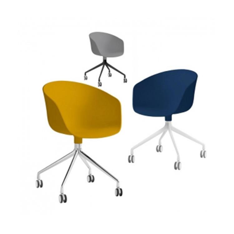 北欧餐椅简约现代设计师创意家用靠背椅书桌电脑椅会客接待休闲椅