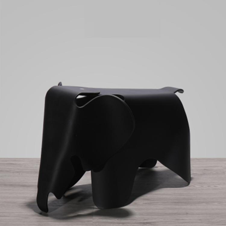 北欧大象儿童椅子家用房间塑料加厚动物玩具幼儿园卡通可爱凳子