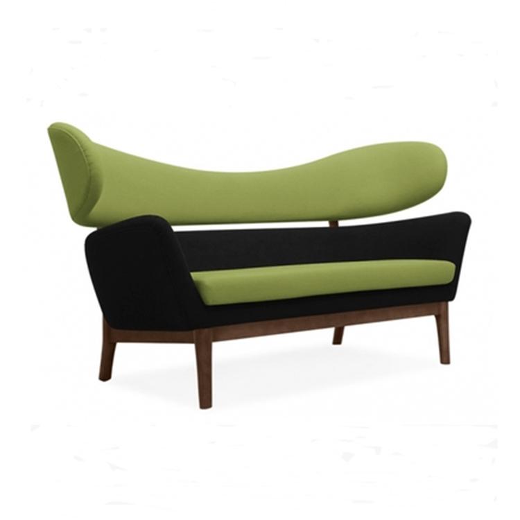 玻璃钢创意个性实木布艺沙发
