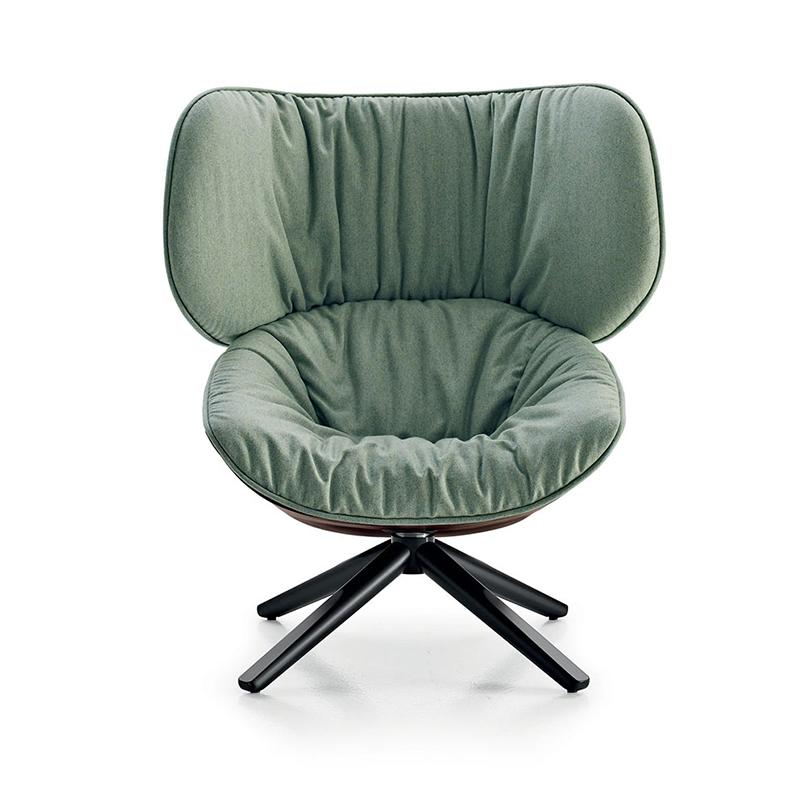 扶手椅布艺靠背北欧单人沙发椅简约现代个性创意玻璃钢沙发