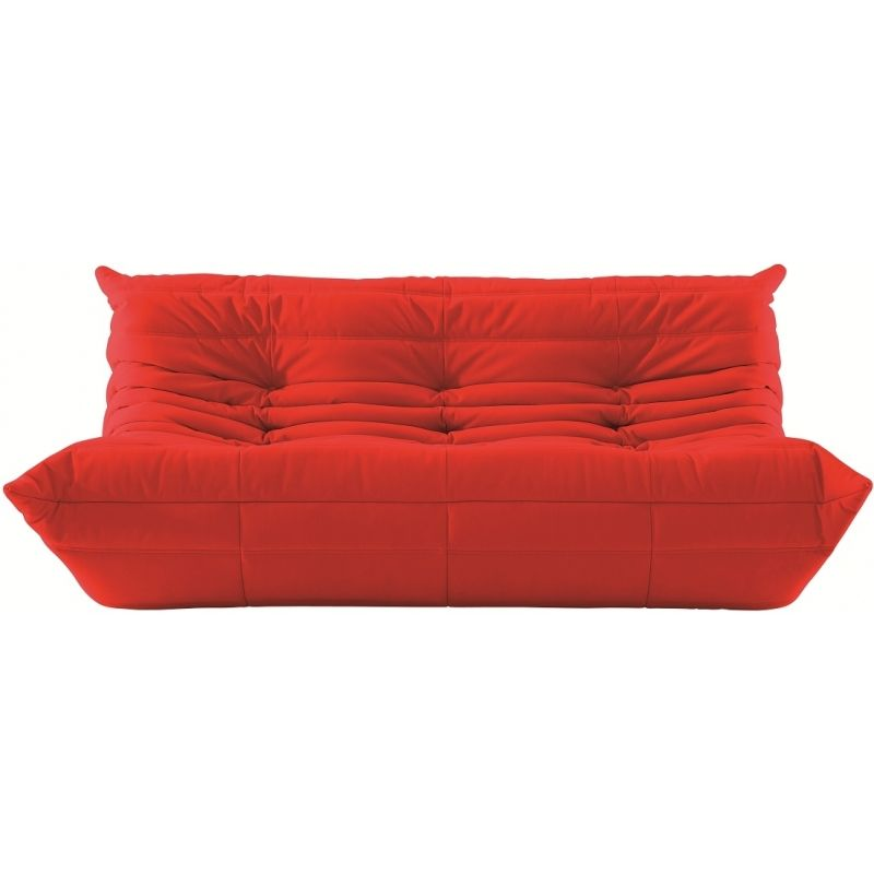 设计师个性创意单双三人位休闲毛毛虫 网红TOGO沙发黄色懒人喜欢