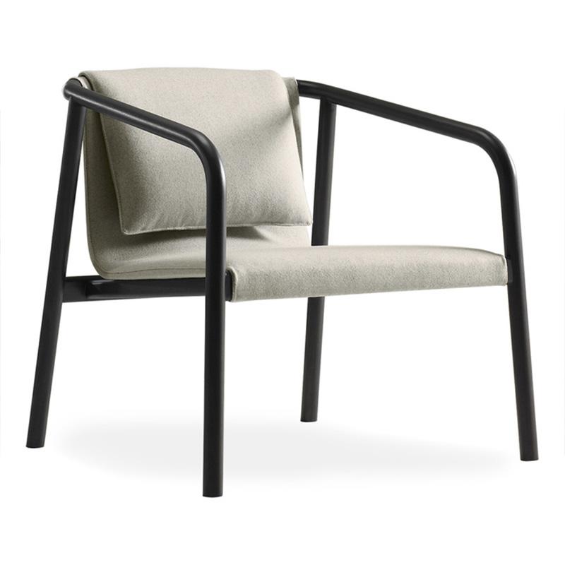 创意时尚个性休闲椅奥斯陆躺椅简约美式风格咖啡厅酒店会所洽谈椅
