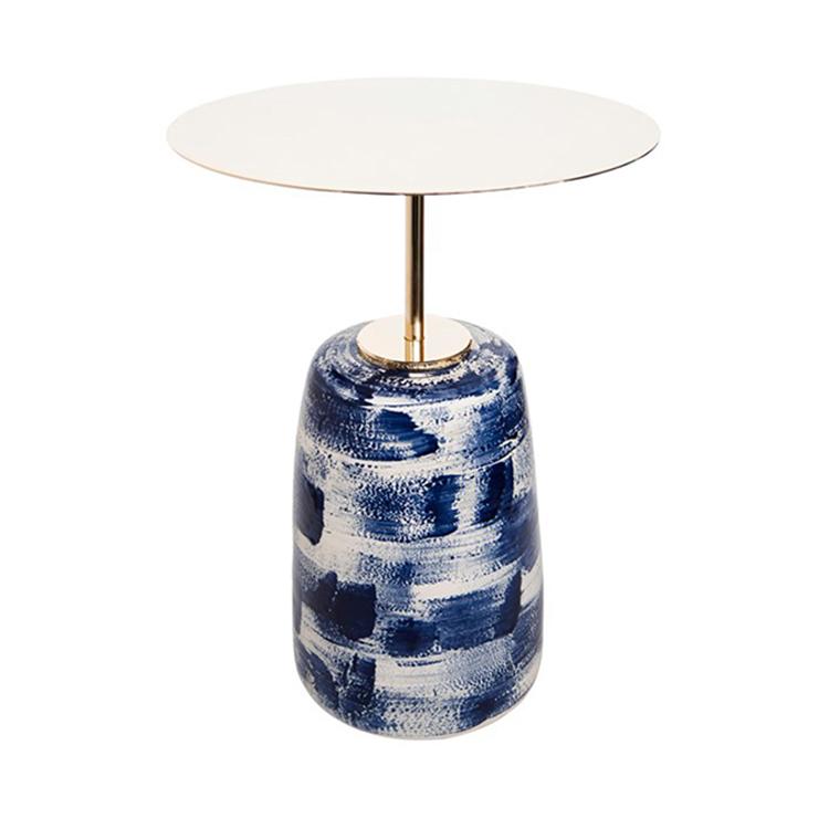 创意茶几 客厅迷你边角几大理石小茶几办公室休闲小桌子