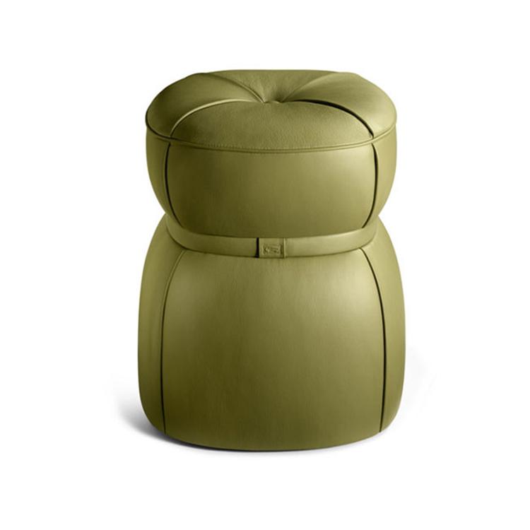 北欧式软垫蒲团矮凳子简约换鞋凳创意圆墩凳定制茶几凳现代布艺凳