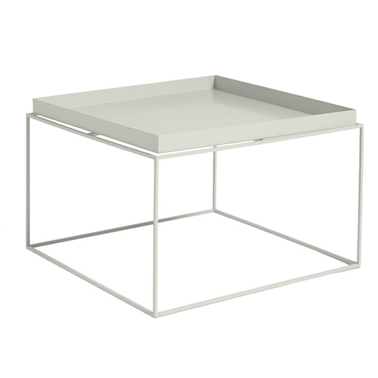 北欧铁艺茶几简约现代边几沙发角几会创意客厅会客接待金属小方桌