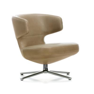 北欧休闲沙发椅时尚金属旋转椅公司休闲洽谈椅设计师创意休闲躺椅