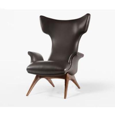 时尚懒人沙发躺椅轻奢风休闲椅样板间售楼处定制椅人气热卖精灵椅