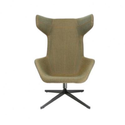 经典设计师家具 ox chair and ottoman/公牛椅 简约现代牛角躺椅