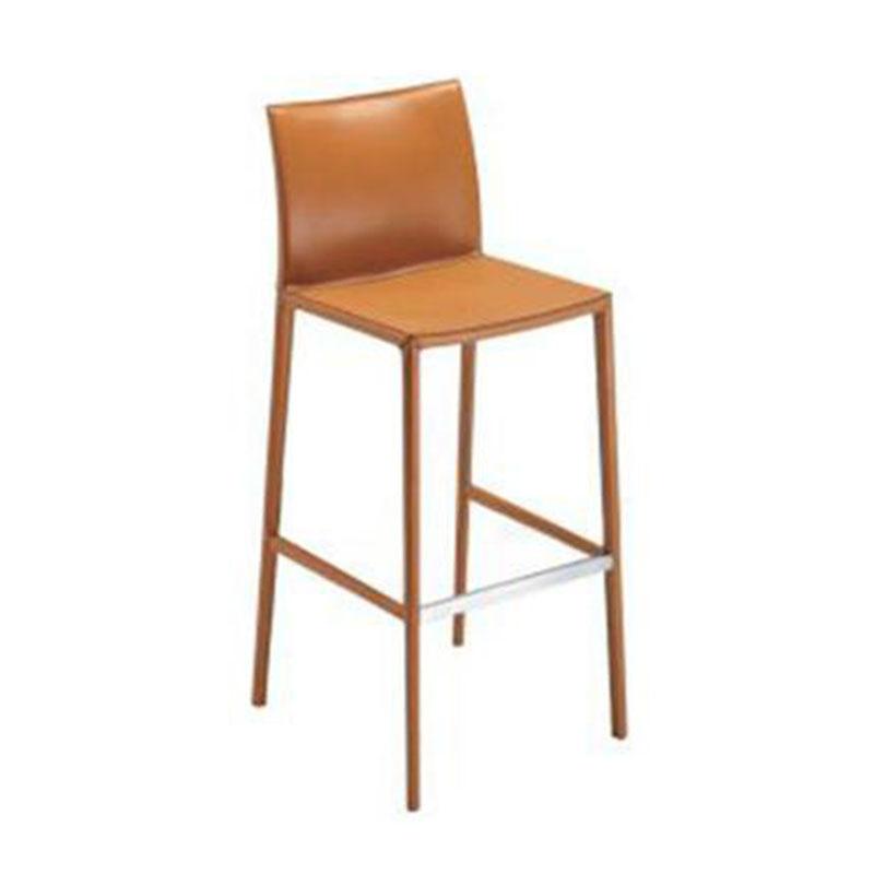 北欧极简不锈钢吧椅酒吧大堂柜台高脚吧台椅