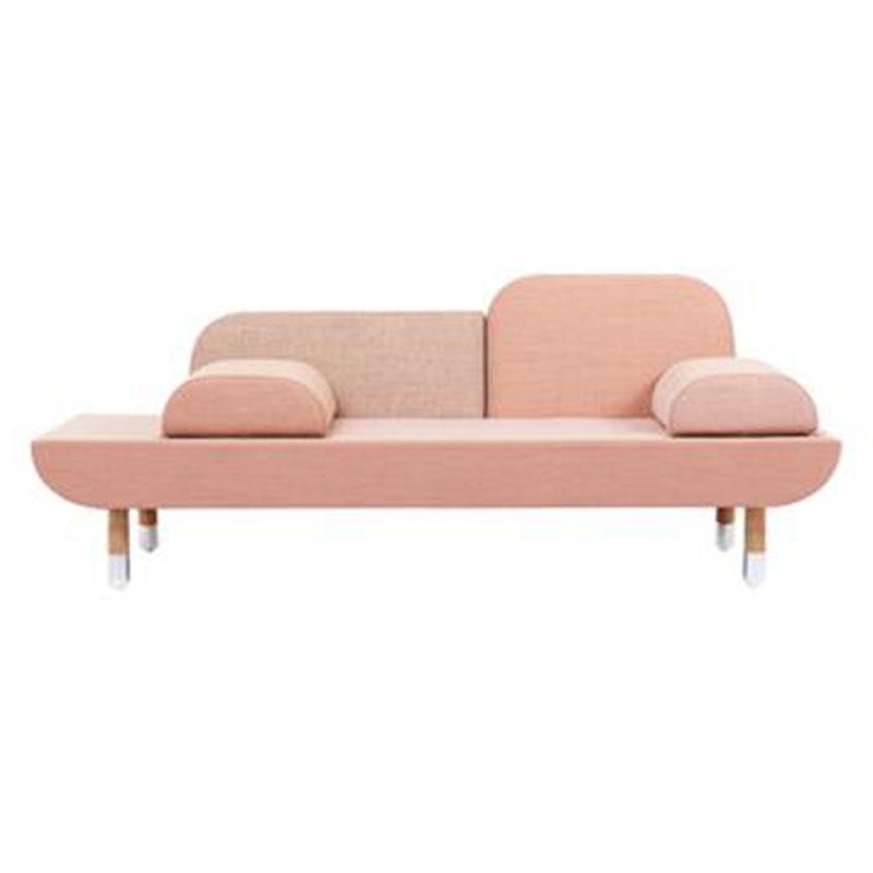 欧式定制风格推荐大师设计创意现代简约接待室三双沙发多人垫座椅