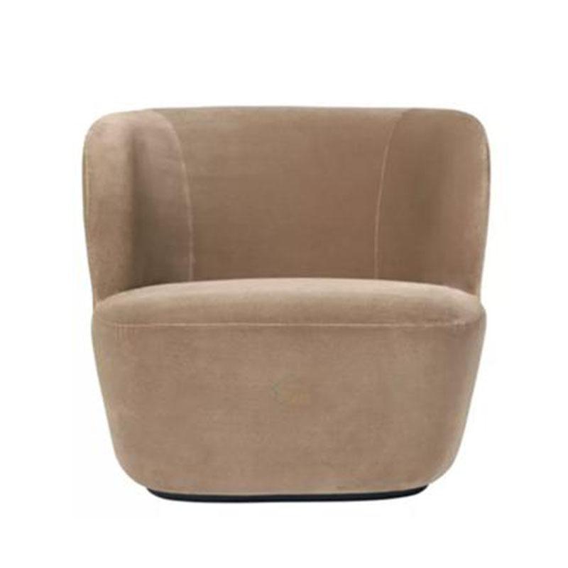 时尚布艺旋转沙发 新古典简约欧式 客厅单人休闲沙发椅子现代