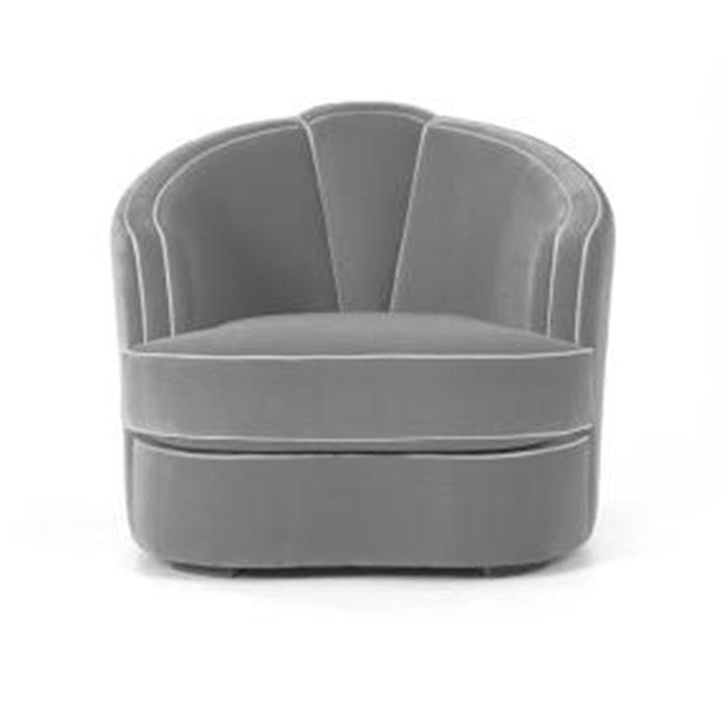 北欧样板房轻奢丝绒布艺沙发美式后现代客厅小户型墨绿色三人沙发