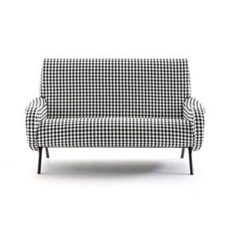 创意家具设计师家具定制小户型客厅休闲单双人位布艺沙发