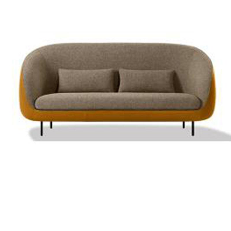设计师家具 进口布艺客厅沙发 双人沙发面料颜色可定制