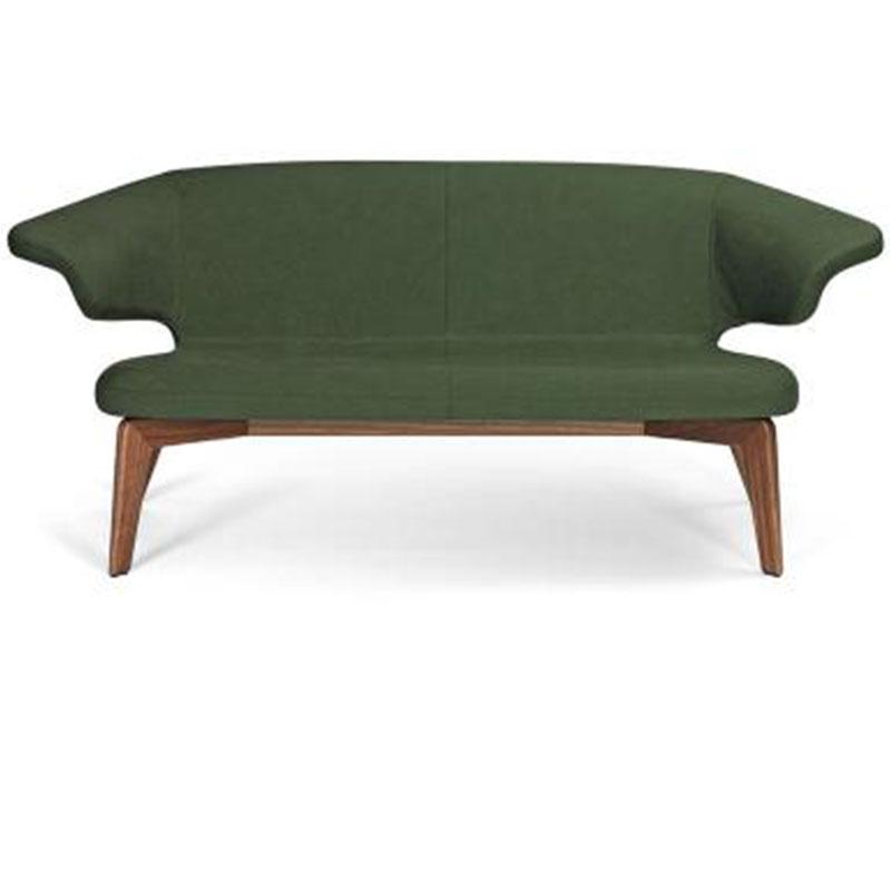 北欧现代简约创意设计师实木沙发经典慕尼黑沙发玻璃钢定制家具