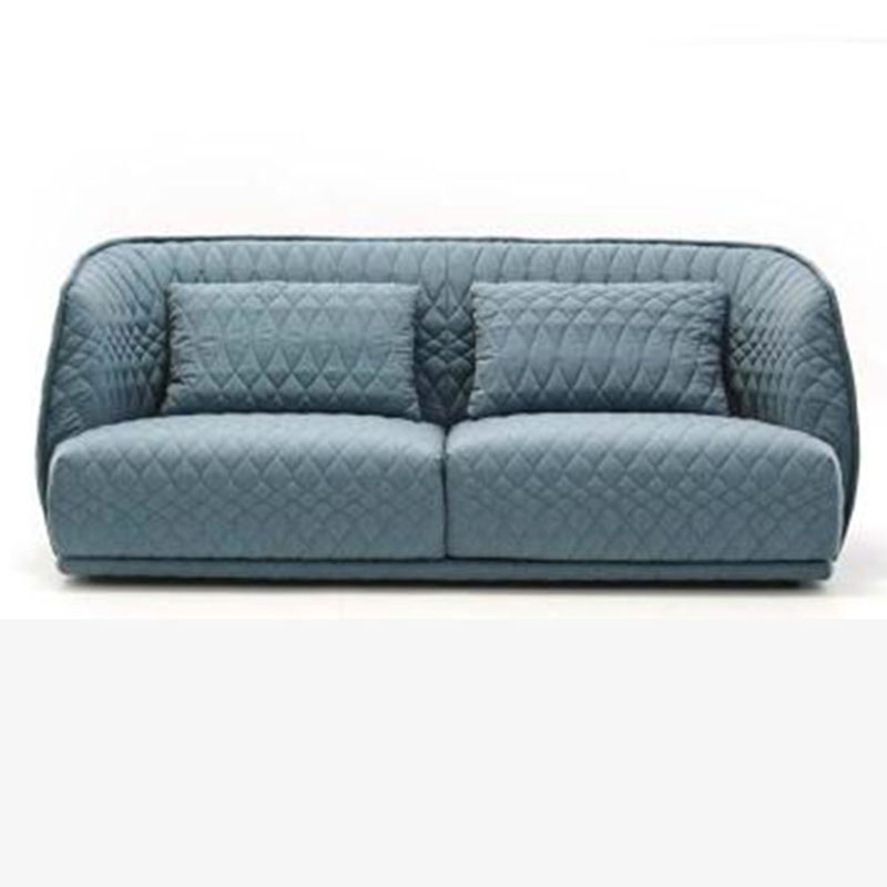 意大利简约私人定制立体纹布软包现代轻奢单人多人沙发组合