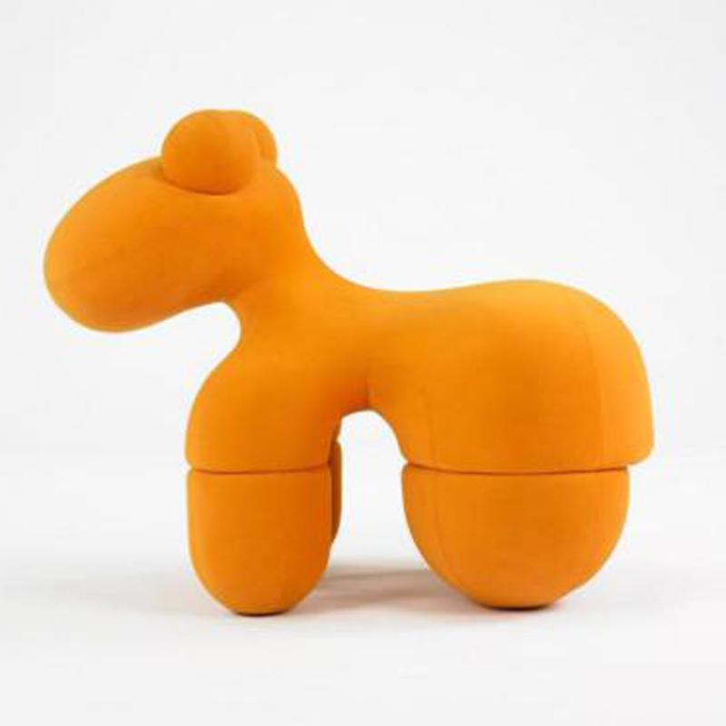 小马椅 创意椅子小狗椅玻璃钢椅 儿童椅 休闲椅客厅沙发椅 展示椅