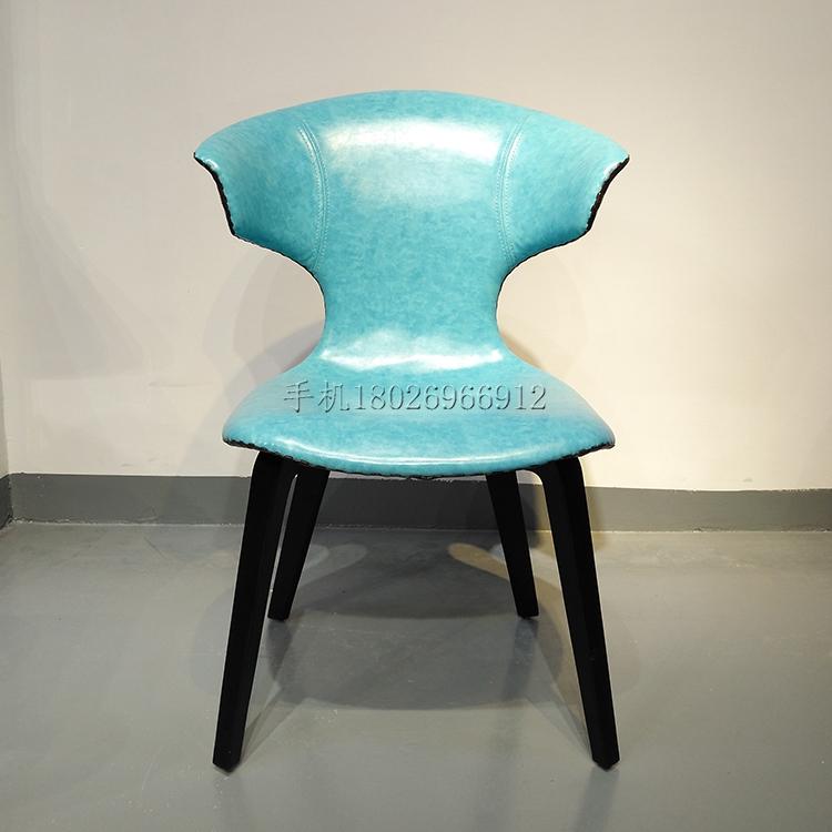 北欧蒙特拉餐椅书椅电脑桌椅吧椅办公洽谈会议椅设计师