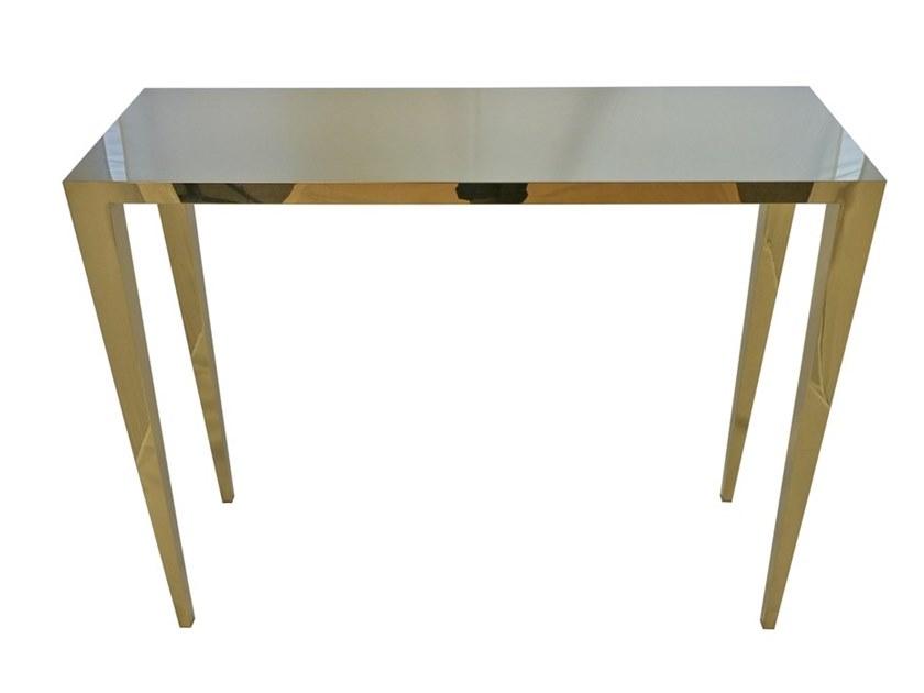 现代简约小户型餐桌 不锈钢桌子