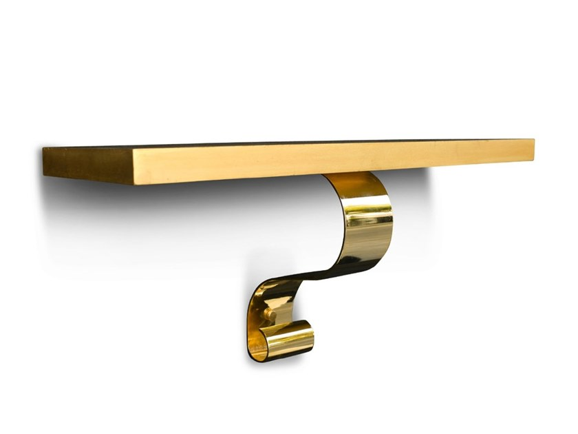 不锈钢电镀卷轴挂墙置物桌