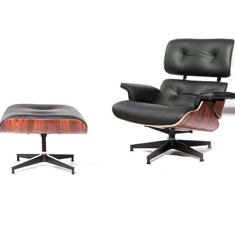 伊姆斯椅 老板办公室沙发椅  现代简约 实木躺椅 休闲椅 经典创意设计