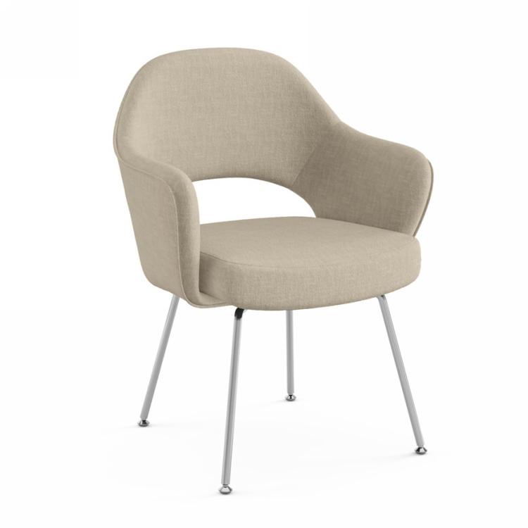 定制家具沙里宁休闲椅 接待洽谈椅 银行商业酒店会所 现代简约设计师设计靠背椅