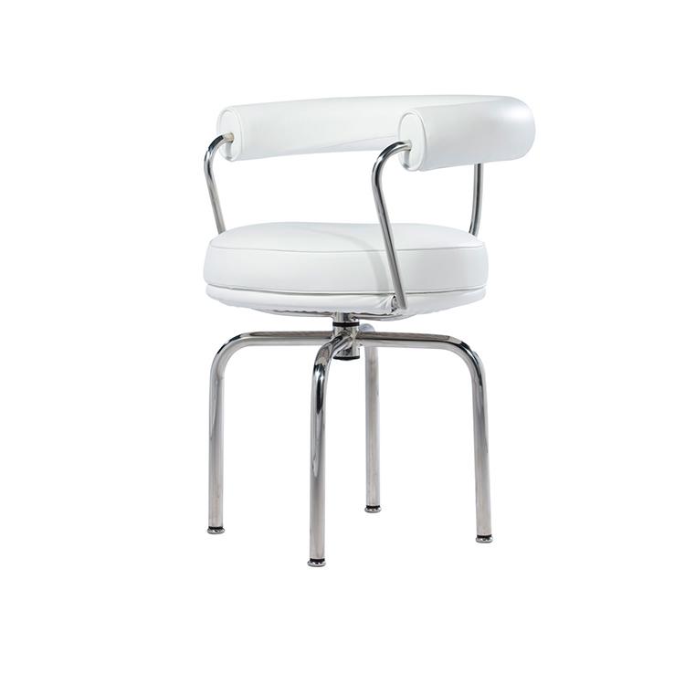 柯布西耶 Ll Chair转椅电脑椅设计师时尚休闲椅北欧经典旋转家具 美容美甲别墅