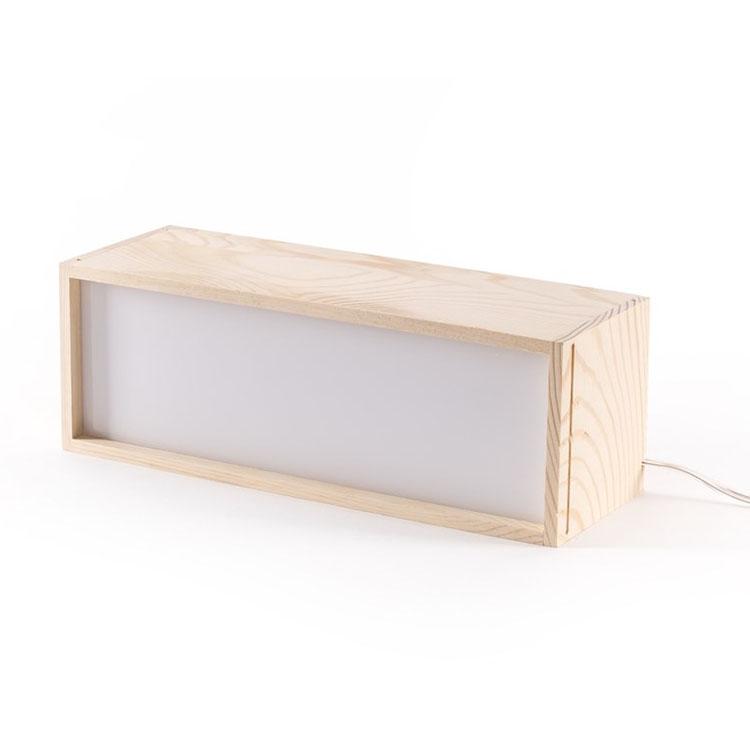 simle盒子台灯 创意定制台灯